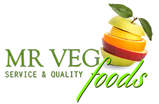 Mr. Veg Food Logo