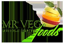 Mr. Veg Food Logo